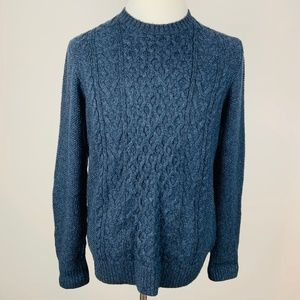Abercrombie & Fitch Large Cable Knit Sweater
